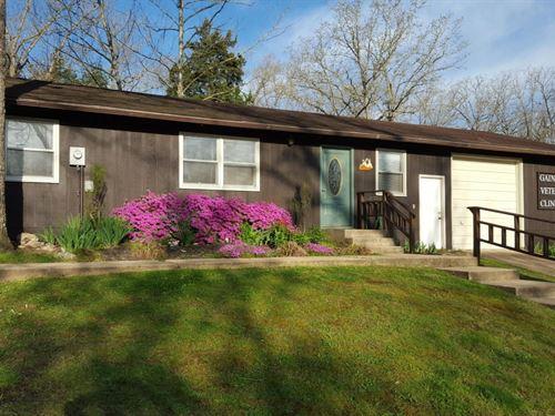 Well-Established Vet Clinic Heart : Gainesville : Ozark County : Missouri