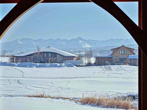 Mountain View, Cobble Creek Home : Montrose : Colorado
