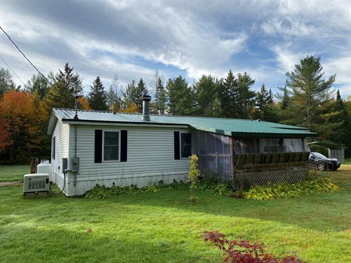 Country Home Glenburn, Maine Real : Glenburn Center : Penobscot County : Maine