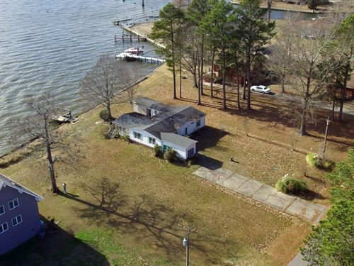 Albemarle Soundfront Home-Hertford : Hertford : Perquimans County : North Carolina