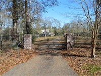 42.94 Acres And House For Sale, Os : Osyka : Pike County : Mississippi