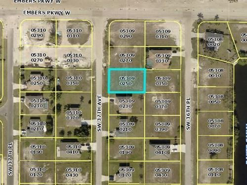 Build Your Dream Home on This Beaut : Cape Coral : Lee County : Florida
