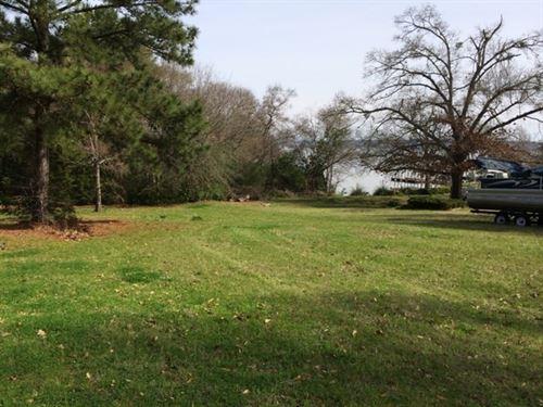 Lake Palestine Water View Lot, East : Frankston : Henderson County : Texas