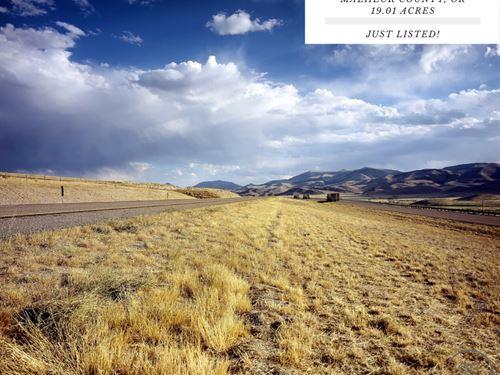 19.01 Acres In Malheur County, Or : Jordan Valley : Malheur County : Oregon
