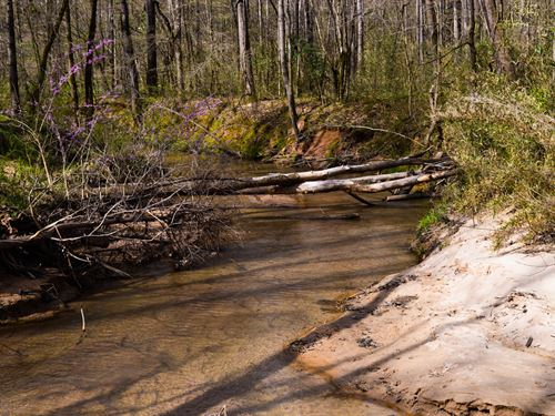 18+/- Acres on 2-Mile Creek : Woodruff : Spartanburg County : South Carolina