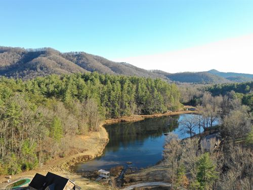 Multi Purpose Complex Mtn Views : Sunset : Pickens County : South Carolina