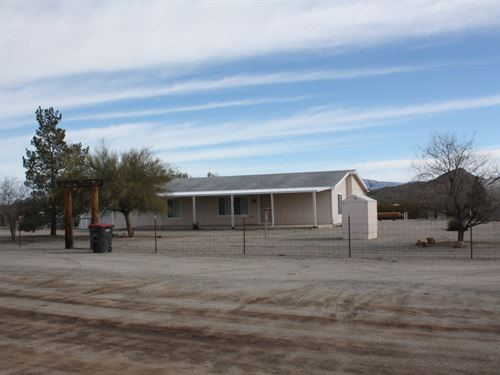 Salome, AZ Country Home Garage 9.8 : Salome : La Paz County : Arizona