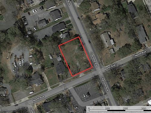 Lot Near Downtown Rock Hill, SC : Rock Hill : York County : South Carolina