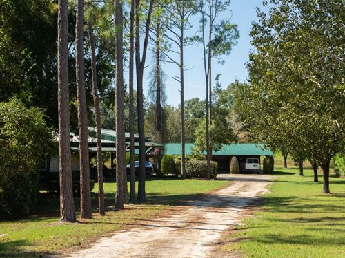 40 Acre Private Secluded Property : Live Oak : Suwannee County : Florida