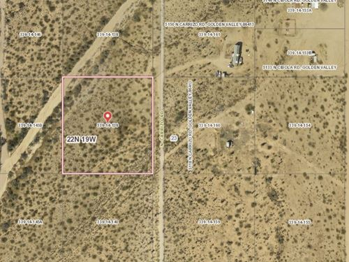 2.35 Acres in Mohave County, AZ : Golden Valley : Mohave County : Arizona