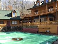 Log Cabin Home For Sale in Jasper : Jasper : Pickens County : Georgia