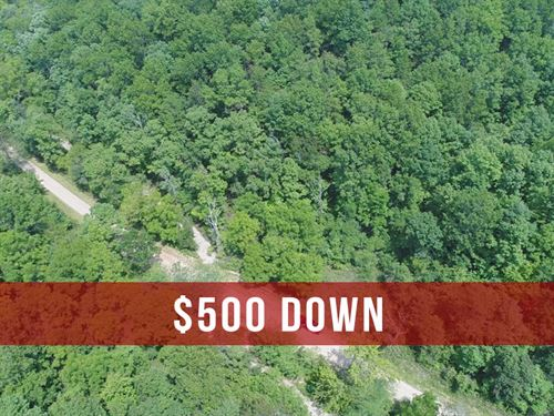 $500 Down on 8 Acres For Hunting : Birch Tree : Shannon County : Missouri