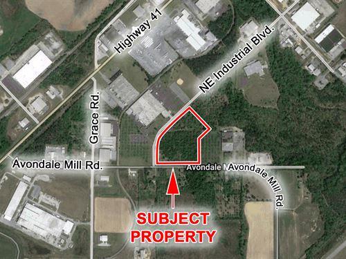 15 Acres For Sale : Macon : Bibb County : Georgia