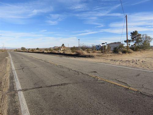Prime, Utilities, Paved, $548/Mo : Landers : San Bernardino County : California