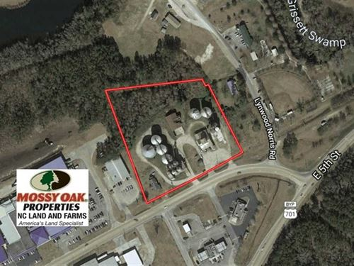 5.3 Acres of Commercial Land : Tabor City : Columbus County : North Carolina