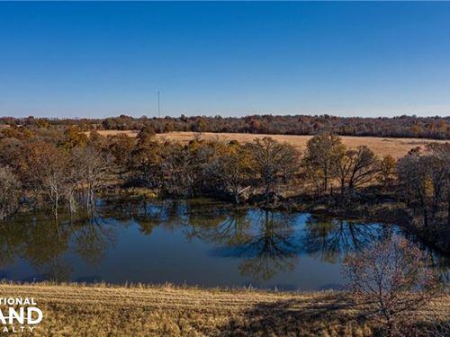 Okemah 366 Acres : Okemah : Okfuskee County : Oklahoma