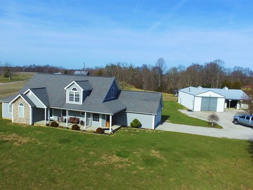 Spacious Country Home-Attached : Liberty : Casey County : Kentucky