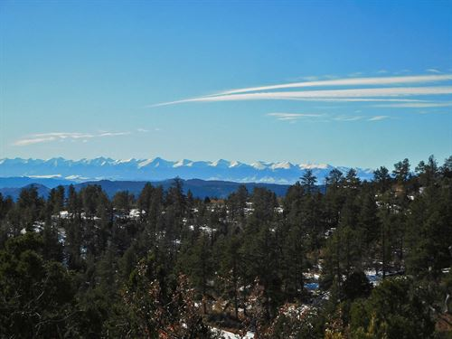 Big Views of Snow-Capped Mountains : Cripple Creek : Teller County : Colorado