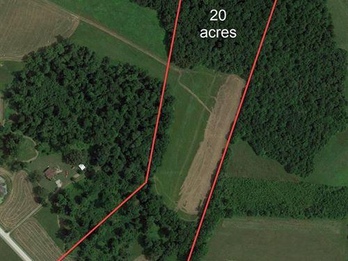Land, Pasture, Woods, Home Site : Center : Metcalfe County : Kentucky