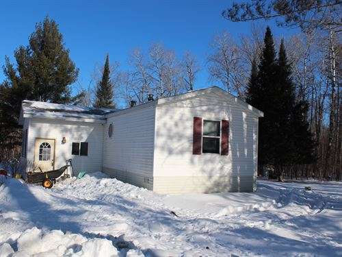 80 Acres Rolling Wooded Hunting : Isle : Kanabec County : Minnesota