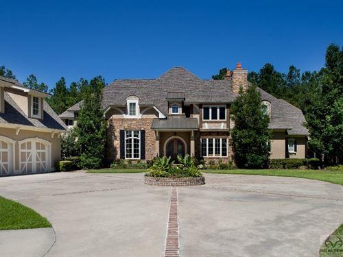 Luxury Estate & Recreational Land : Early Branch : Jasper County : South Carolina