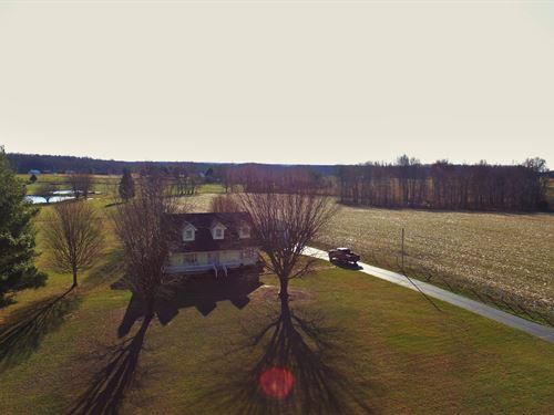 40 Acre Farm, 3 Bed 2 Bath : Liberty : Casey County : Kentucky