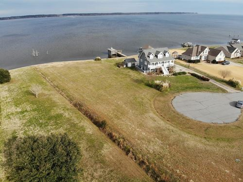 Beautiful Waterfront Lot For Sale : Hertford : Perquimans County : North Carolina