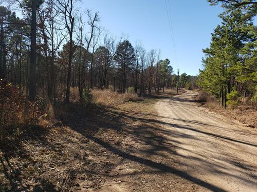 4 Acres Post Mountain Adjoining : Hodgen : Le Flore County : Oklahoma