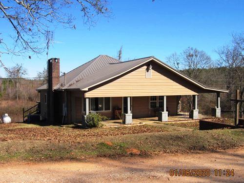 Farm House and 91 Acres : Wadley : Clay County : Alabama
