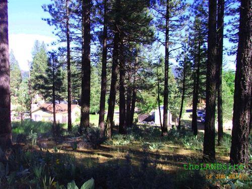 City Lot in Portola California : Portola : Plumas County : California