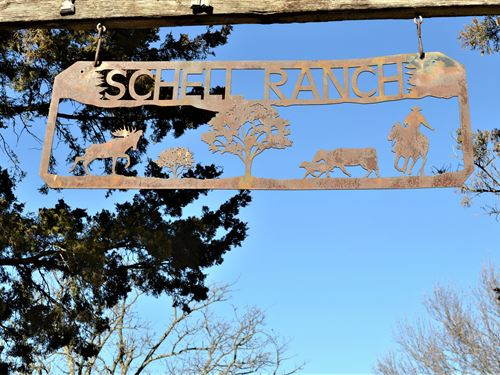 Schell Ranch : Barnsdall : Osage County : Oklahoma