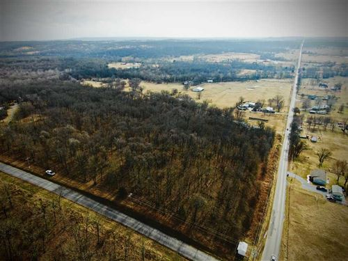 Hill Side View : Claremore : Rogers County : Oklahoma