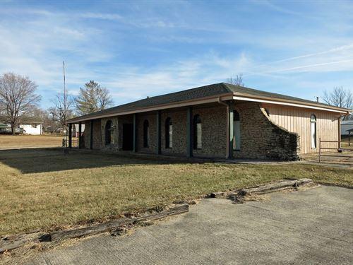 Commercial/Residential Property : Ridgeway : Harrison County : Missouri