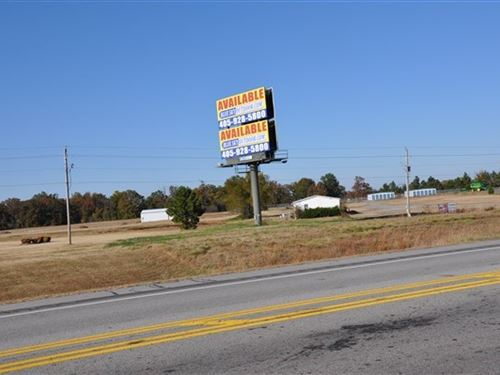6 Acres Highway Property Edge : Poteau : Le Flore County : Oklahoma