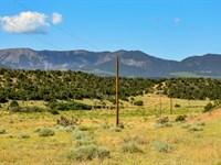 Ranch With Power & Mountain Views : Gardner : Huerfano County : Colorado