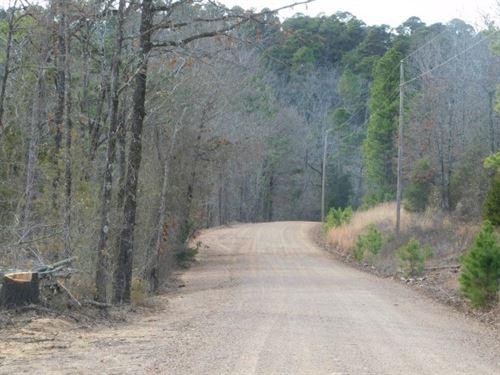 Oklahoma Recreational Hunting Land : Hodgen : Le Flore County : Oklahoma