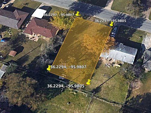 .17 Acre Home Lot in Tulsa City : Tulsa City : Tulsa County : Oklahoma