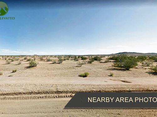 Almost 2 Acres of Land in Kern, CA : California City : Kern County : California