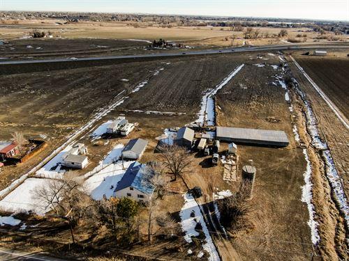 Laporte Rural Estate : Fort Collins : Larimer County : Colorado