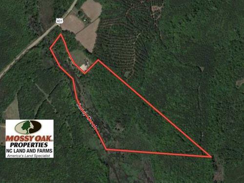29.66 Acres of Timber Land For Sal : Alert : Franklin County : North Carolina