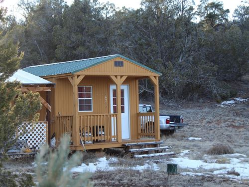 Fenced Land Septic Borders State : Seligman : Yavapai County : Arizona