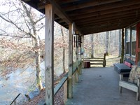 Cabin Located Buffalo River : Hohenwald : Lewis County : Tennessee