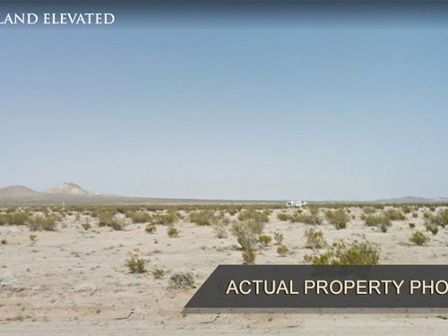 Desert Property Close to Mojave : California City : Kern County : California