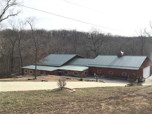 12 Acre Dream Shop Home, Next : Lincoln : Benton County : Missouri