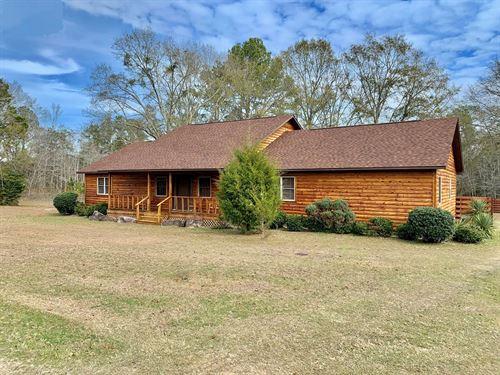 Home 4.3 Acres Pond Samson, Alabama : Samson : Geneva County : Alabama