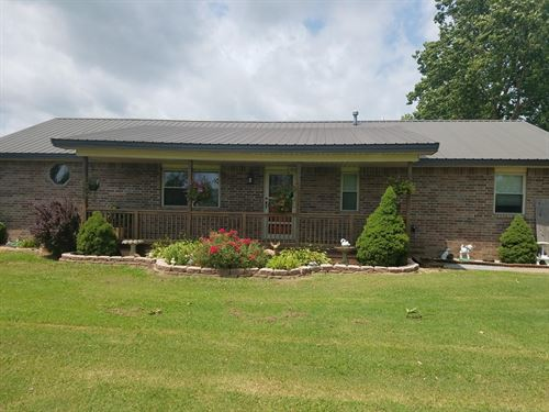 Country Homewithbig Shop 8 Acres : Pryor : Mayes County : Oklahoma