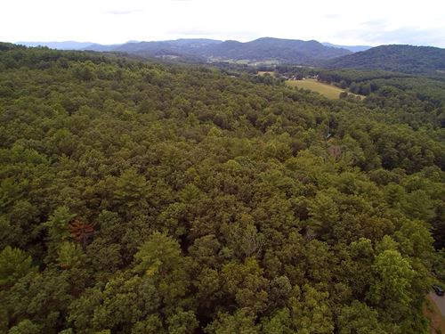 10 Elevated Acres in Blue Ridge : Independence : Grayson County : Virginia