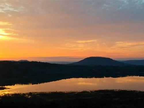 Lakefront Acreage Views to Wow : Higden : Cleburne County : Arkansas