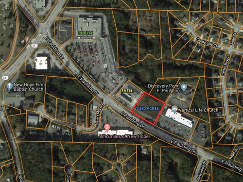Publix Outparcel 1.33 Acres : Dallas : Paulding County : Georgia
