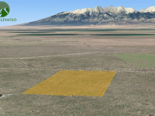 Flat Property to Build On 4.92 Acre : Fort Garland : Costilla County : Colorado